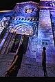 כנסיית הגואל ברובע הנוצרי של העיר העתיקה בירושלים. הכנסייה צולמה בפסטיבל האור שהתקיים בחודש יוני 2012 02.jpg