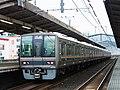住道駅にて 207系快速電車 Rapid Service 2012.12.17 - panoramio.jpg