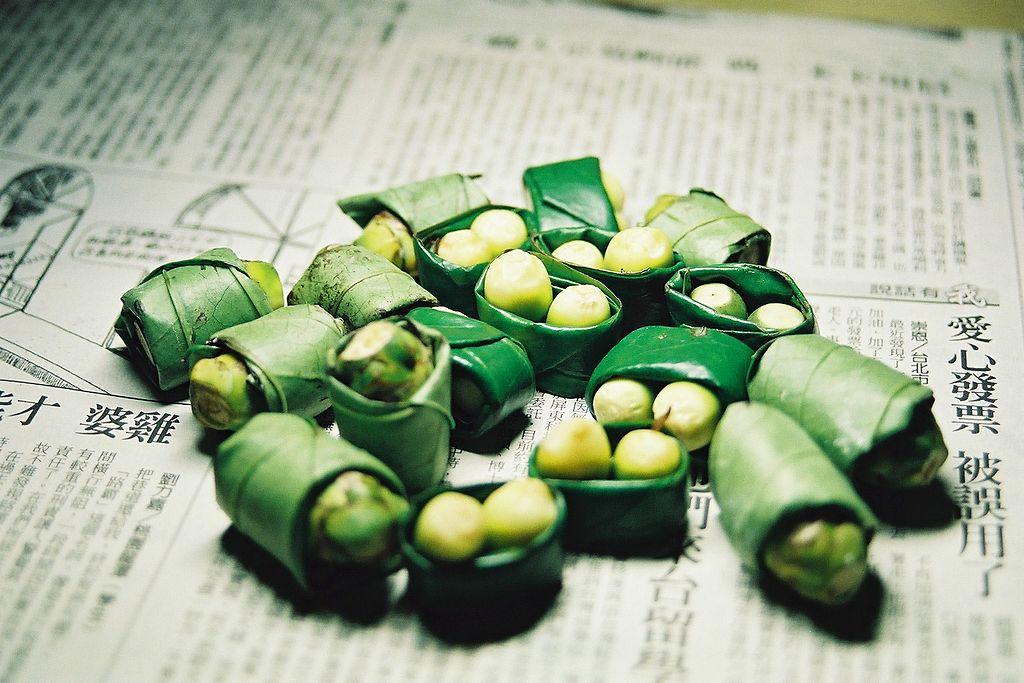 台湾で売っている檳榔