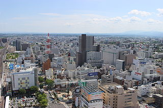 Core city in Tōhoku, Japan