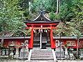 高野町西富貴 丹生神社 Niu-jinja, Nishifuki 2012.4.25 - panoramio.jpg
