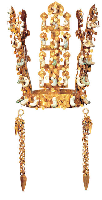 Korean art - Gold Crown of Silla.