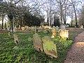 -2020-01-04 Churchyard, All Saints church, Gimingham.JPG