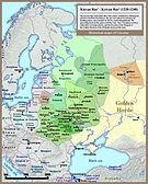 001 Kievan Rus' Kyivan Rus' Ukraine map 1220 1240.jpg