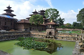 Lalitpur, Nepal - Bhandarkhal water Tank at Bhandarkhal garden