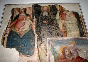 San Nazaro in Brolo - Image: 0376 Milano San Nazaro Transetto sin, affreschi sec. XV Foto Giovanni Dall'Orto 5 May 2007