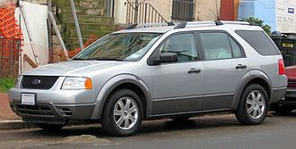 Ford Five Hundred - Ford Freestyle SE