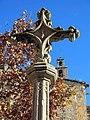 074 Monestir de Sant Cugat del Vallès, creu de terme.JPG