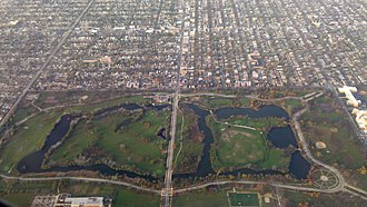 Chicago Lawn, Chicago - The 323-acre Marquette Park.