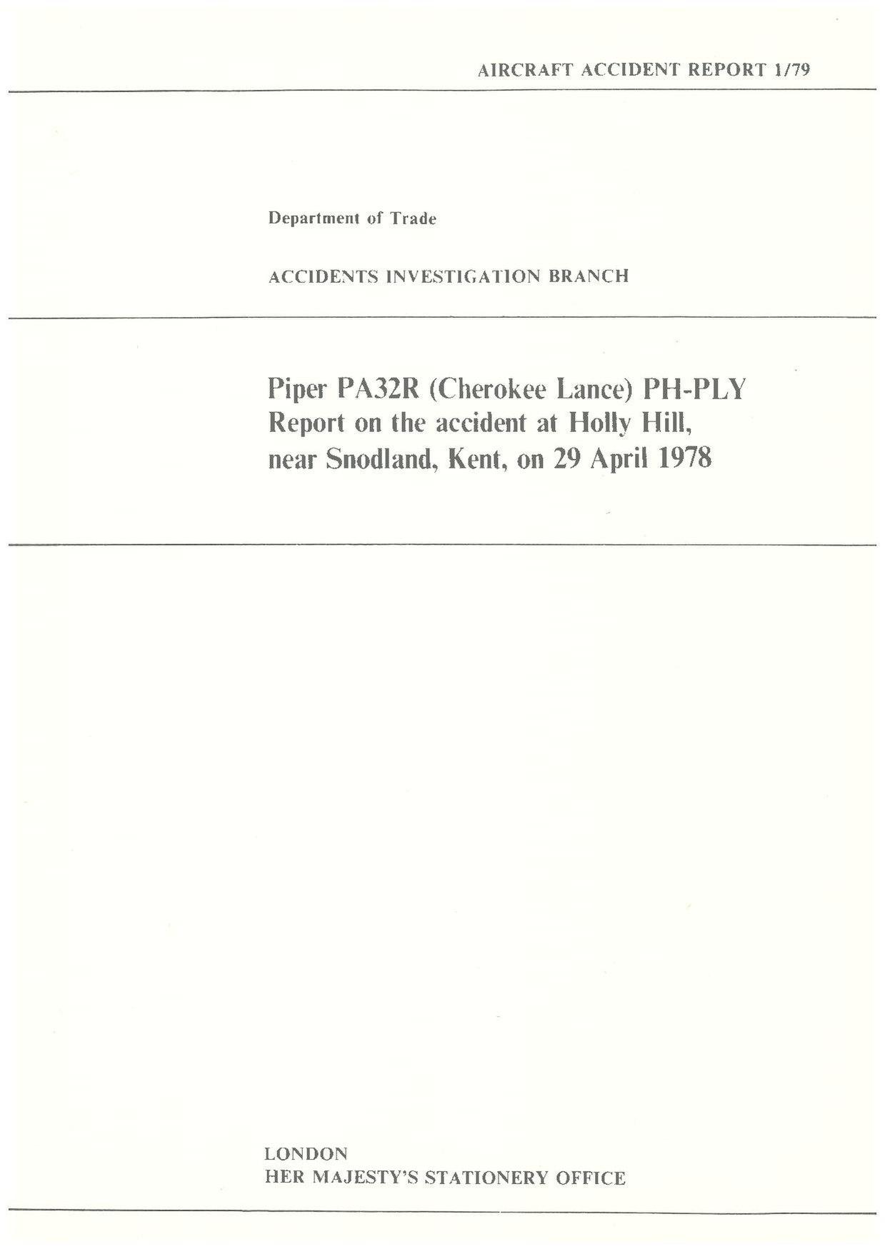 File:1-1979 Piper PA32R Cherokee Lance, PH-PLY, 29 April 1978 pdf
