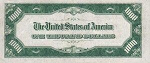 1000 USD note; series of 1934; reverse.jpg