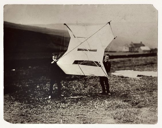 11. With Eccles at the Kite-Flying Station in Glossop