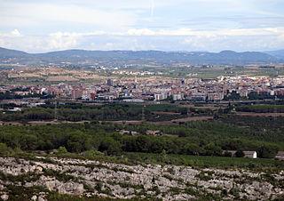 Vilafranca del Penedès Municipality in Catalonia, Spain