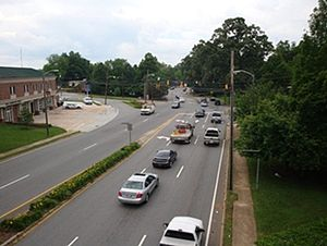 Hickory, North Carolina - Image: 127 northbound