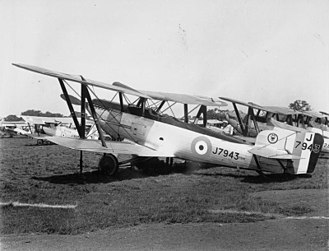 No. 12 Squadron RAF - Fairey Fox of No. 12 Squadron at RAF Hendon for the 1929 Royal Air Force Pageant.