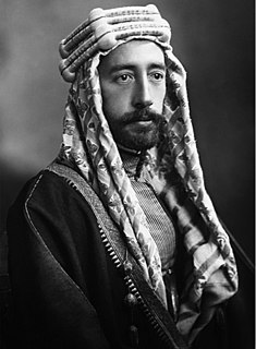 Faisal I of Iraq 20th-century King of Syria and Iraq