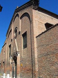 monastery in Ferrara, Italy