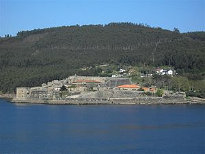 Ferrol Expedition (1800) -  The Fort of San Felipe