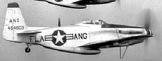 Florida Air National Guard - Florida Air National Guard F-51H Mustang, AF Ser. No. 44-64603.  The 159th Fighter Squadron operated the Mustang between 1947 and 1954.