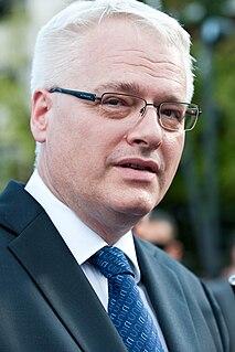 Ivo Josipović Third President of Croatia