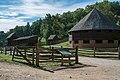 16 sided barn from Slave Cabin 03 - Mount Vernon.jpg