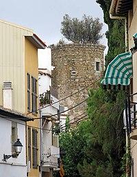 184 Torre Busquets, c. Major (Caldes d'Estrac).JPG