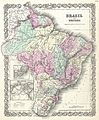 1855 Colton Map of Brazil and Guyana - Geographicus - Brazil-colton-1855.jpg
