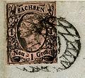 1860 Sachsen 1NGr issue1855 Mi9a Leipzig.jpg