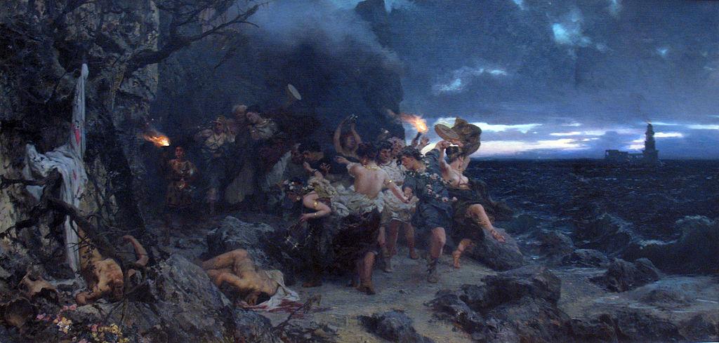 Grafika bez ustawionego tekstu alternatywnego: Za Tyberiusza na Capri