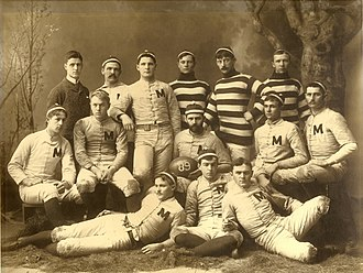 1888 Michigan Wolverines football team - Image: 1888 Michigan Wolverines football team