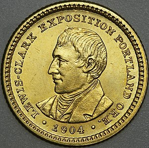 1904 Lewis and Clark dollar obverse