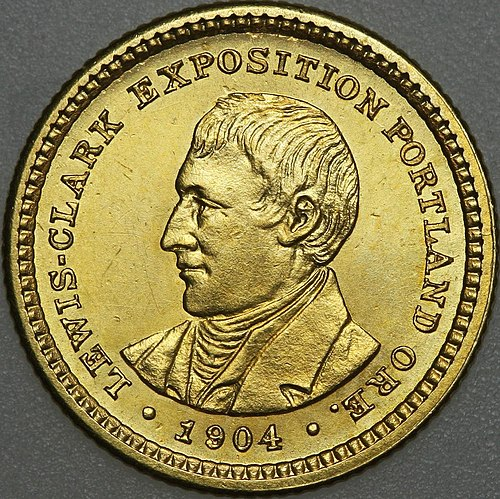 Lewis and Clark Exposition dollar