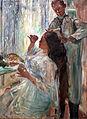 1911 Corinth Charlotte Corinth am Frisiertisch anagoria.JPG