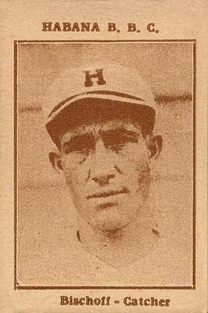 John Bischoff (baseball) - Image: 1923 Tomas Gutierrez John Bischoff
