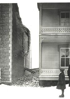 earthquake struck northeastern North America on February 28, 1925