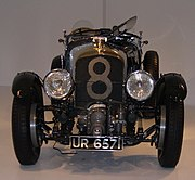 "Kompressor-matad ""Blower"" Bentley från 1929."