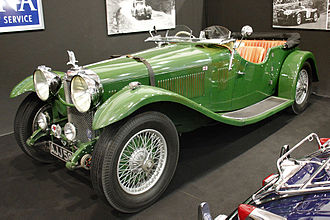 Vanden Plas - Alvis Speed 20 coachwork by Vanden Plas 1933