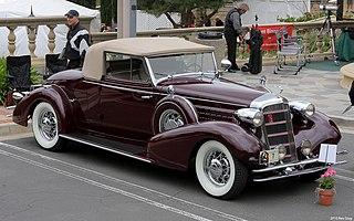 Cadillac Series 355 Motor vehicle