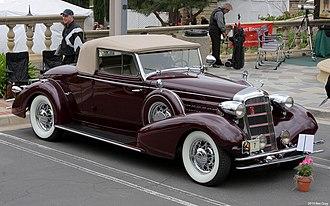 Cadillac Series 355 - 1934 Cadillac Series 355D
