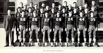 1939 Texas Tech vs. Centenary football game - 1939 Centenary College Gents Football Team