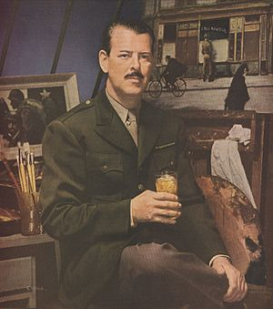 Floyd MacMillan Davis - Floyd Davis – 1946 Lord Calvert Ad