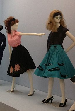 1950s poodle skirts