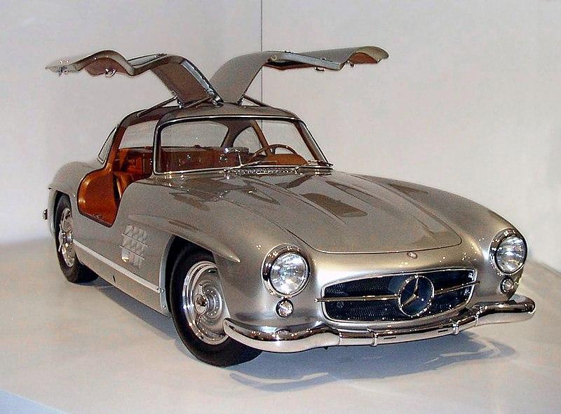 ファイル 1955 mercedes benz 300sl gullwing coupe 34 right jpg