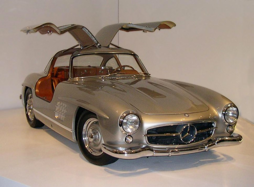 1955 Mercedes-Benz 300SL Gullwing Coupe 34 right