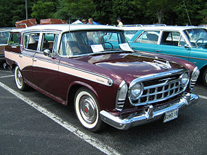 "Mid-size car - The ""compact"" Rambler that later became an ""intermediate"" car, while retaining its basic dimensions"