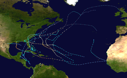 1964 Atlantic hurricane season summary map.png