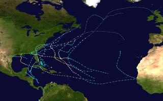 1964 Atlantic hurricane season hurricane season in the Atlantic Ocean