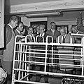 1966 visite de Mr Edgar Faure sénateur du Jura au CNRZ-1-cliche Jean Joseph Weber.jpg