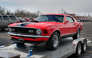 Ford Mustang Mach 1 - 1970 Ford Mustang Mach 1
