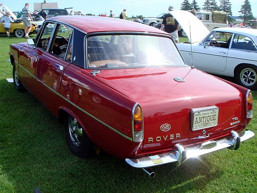 1971 Rover 2000TC Series II Rear